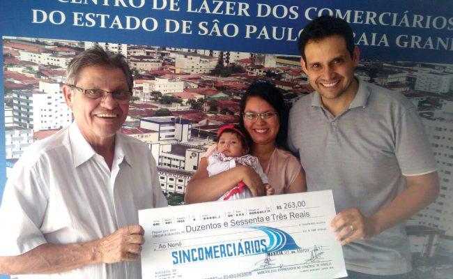 Prêmio Maternidade têm mais comerciários associados premiados