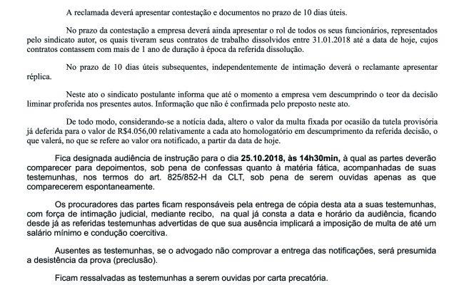 SUPERMERCADO CONFIANÇA DESCUMPRE LIMINAR E JUSTIÇA TRIPLICA MULTA